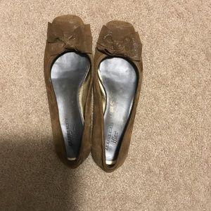 Anne Klein iflex brown shoes.